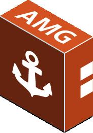Kurs-Box, Orange, AMG, Grundladen